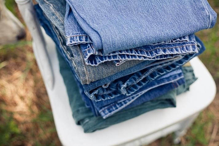 up close jeans