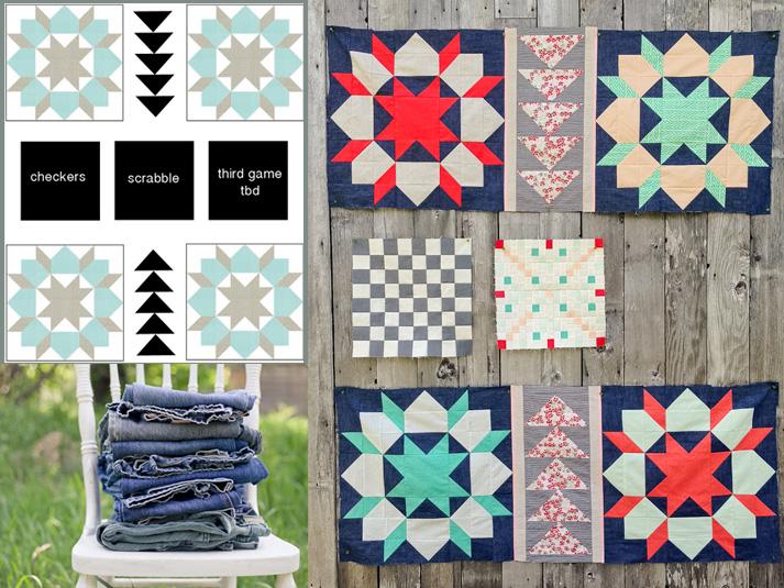 picnic quilt mosaic
