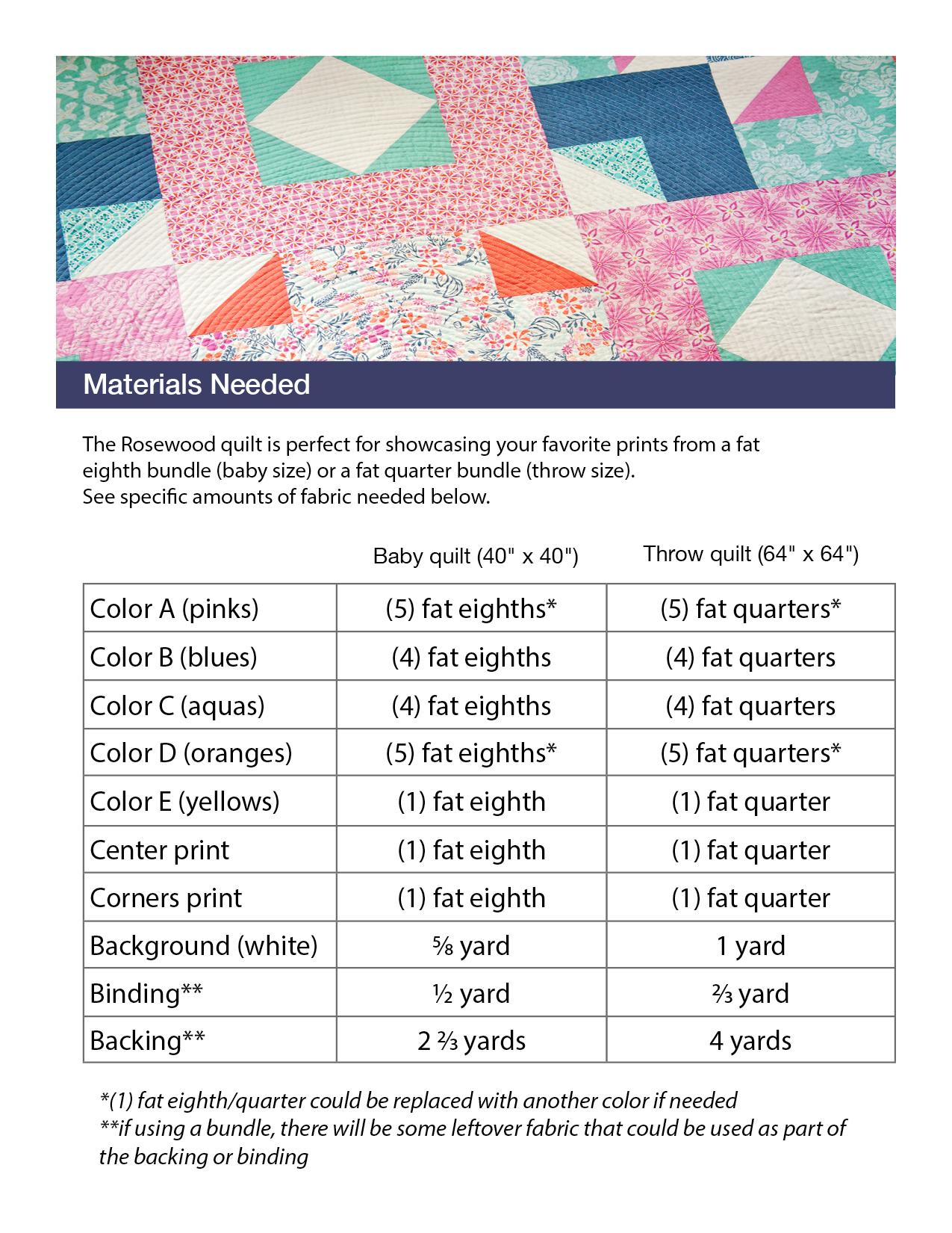 Rosewood Quilt Pattern Pdf Michelle Bartholomew
