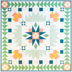 medallion milestone quilt cover photo
